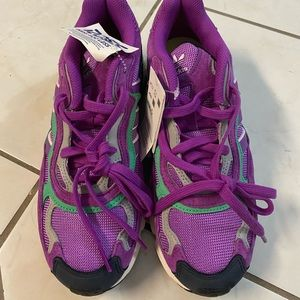 Adidas Men's Purple Athletic Sneakers Size 7.5